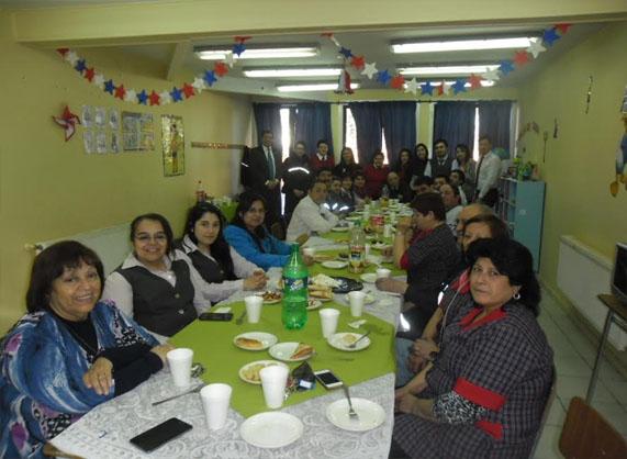 Celebración día del Asistente de la Educación