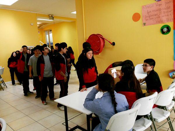 Elección Centro de Alumnos 2015